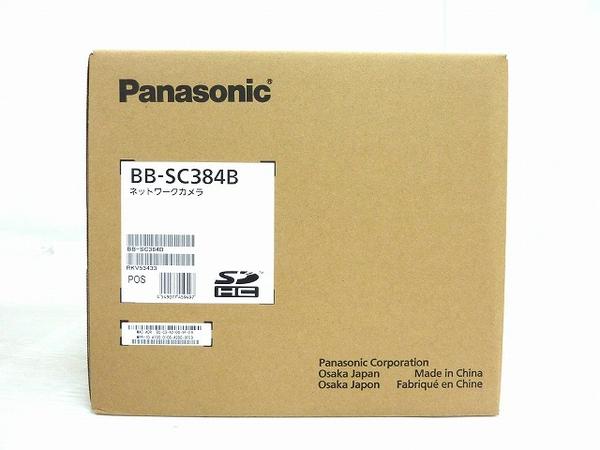 未使用 【中古】 未使用 Panasonic パナソニック BB-SC384B ネットワークカメラ 防犯 屋内用 O3652482