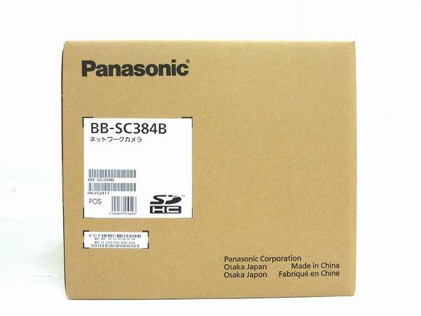 未使用 【中古】 未使用 Panasonic パナソニック BB-SC384B ネットワークカメラ 防犯 屋内用 O3652488