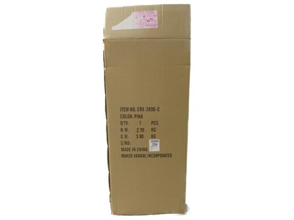 未使用 【中古】ジュン&ロペ JUN&ROPE スタンド付き キャディバッグ レディース 9型 ピンク ERX3800 S3870723