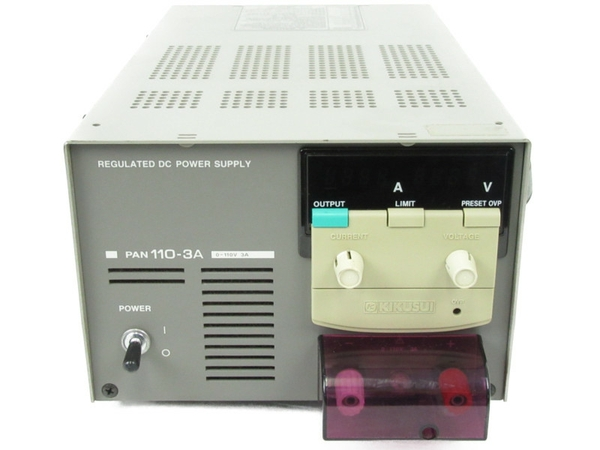 【中古】 KIKUSUI 菊水 PAN 110-3A 直流安定化電源 コンパクト N3468531