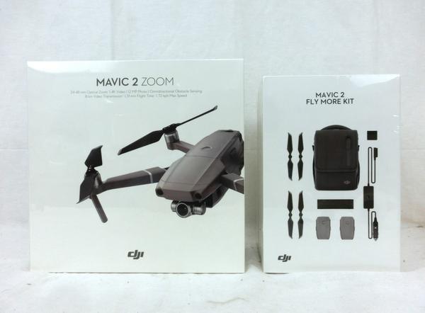 未使用 【中古】 DJI Mavic 2 ZOOM FlyMore MA2P01 キット ドローン セット M4886860