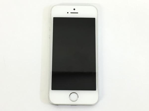 美品 【中古】 Apple iPhone SE MLLP2J/A 16GB au シルバー 4型 スマートフォン T3492256