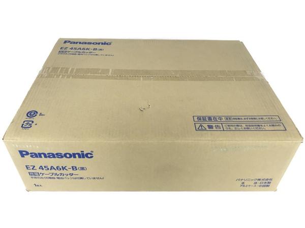 未使用 【中古】Panasonic ケーブルカッター EZ45A6K-B パナソニック 本体のみ 電動工具 N5172136