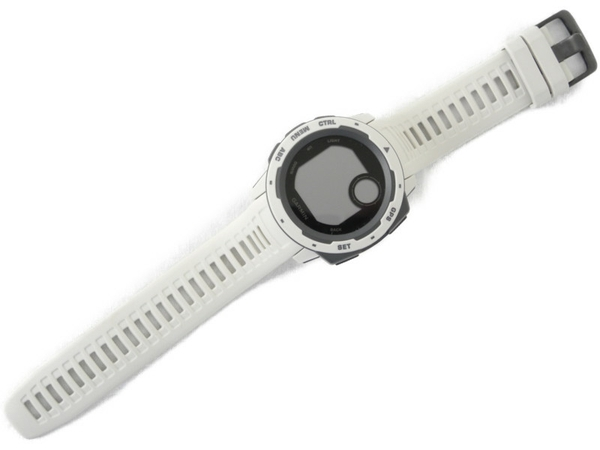 【中古】Garmin ガーミン instinct アウトドアウォッチ 腕時計 N4370315
