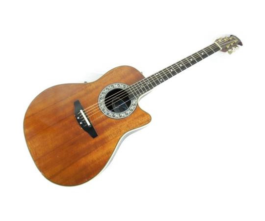 【中古】 Ovation オベーション akaman music product 386K エレアコ ギター 楽器 K3886094