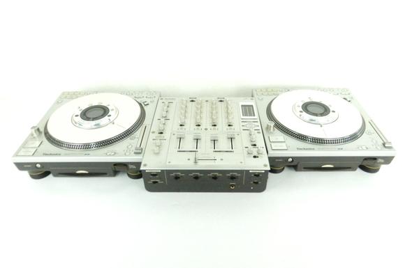 【中古】 Technics テクニクス SL-DZ1200 / SH-MZ1200 ダイレクトドライブ デジタルターンテーブル DJミキサー Y3803656