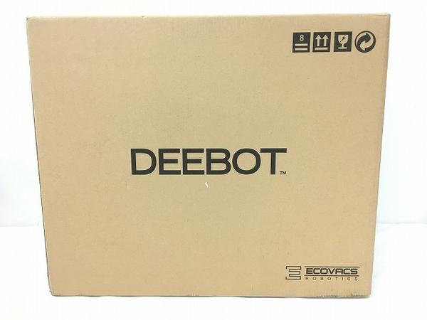 未使用 【中古】 ECOVRCS DEEBOT SLIM2 DA5G ロボット掃除機 家電 未開封 W4006818