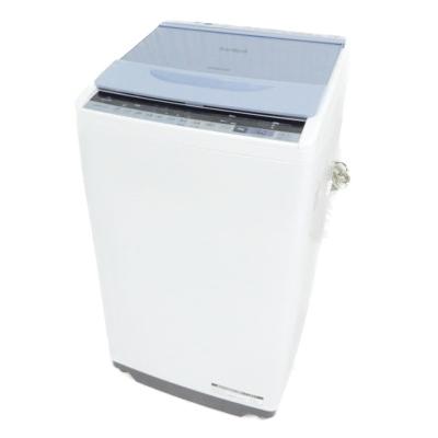 【中古】 日立 ビートウォッシュ BW-V70B 全自動 洗濯機 7kg 縦型 家電 楽直 【大型】 Y3765522