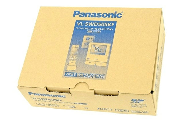 未使用 【中古】 Panasonic VL-SWD505KF ワイヤレスモニター付 テレビドアホン T3638484