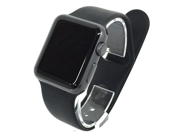 Apple watch Sport 38mm MJ2X2J/A ブラックスポーツバンド 本体 T3016326