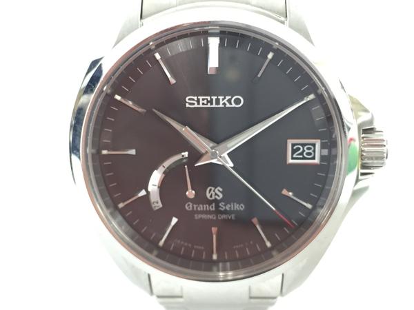 【中古】 GRAND SEIKO グランドセイコー SBGA073 スプリングドライブ マスターショップ限定 メンズウォッチ 腕時計 裏スケ T3877180