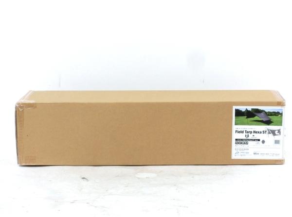 未使用 【中古】 未使用 キャンパルジャパン ogawa Field Tarp Hexa ヘキサ ST Canadian East カナディアンイースト タープ ブラック CETO-1020 キャンプ アウトドア M3844186