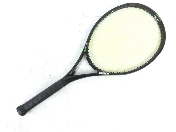 【中古】 prince プリンス X100 硬式用 テニスラケット G2 中古 M3894299