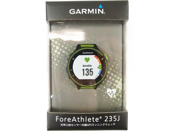 【新品本物】 未使用 【】 GARMIN ガーミン ランニングウォッチ GPS ForeAthlete 235J S3024218, ミュゼデュ 86a82952