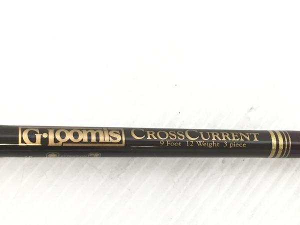 美品 【中古】G.ルーミス G-Loomis CROSSCURRENT 9Foot 12Weight 3Piece フライ ロッド 釣具 K4888844