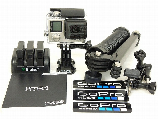 華麗 【】CHDSY-401-JP GoPro GoPro HERO4 シルバーエディション サーフ GoPro HERO4 Silver Edition CHDSY401JP バッテリー3個 O2043045, みの焼 みの吉 2605cbe8