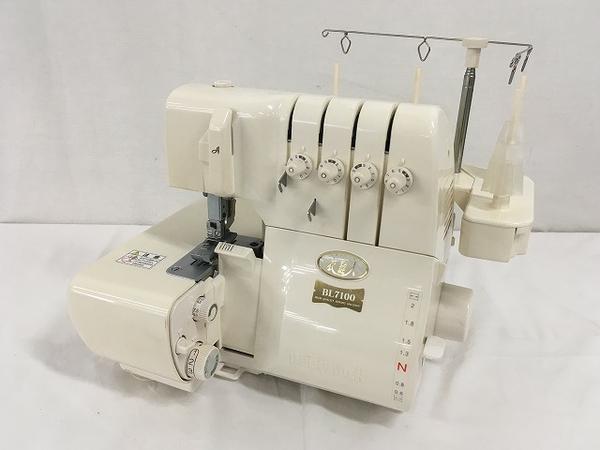 【中古】 JUKI BL7100 ベビーロック ロックミシン W4018956 ロックミシン 衣縫人 ジューキ JUKI W4018956, くまの焼酎屋:dd35f734 --- sunward.msk.ru