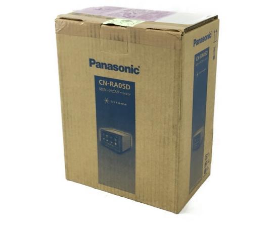未使用 【中古】 Panasonic パナソニック CN-RA05D ストラーダ SD ナビ 7V型 カーナビ パナソニック N3913893