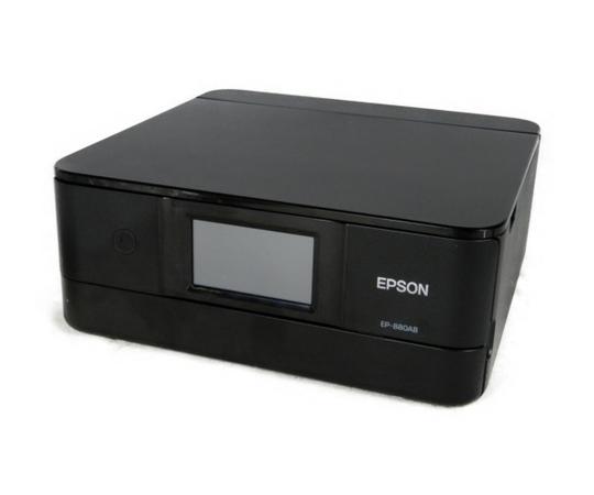 【中古】 良好 EPSON Colorio EP-880AB エプソン カラリオ A4 インクジェットプリンタ ブラック K3879524