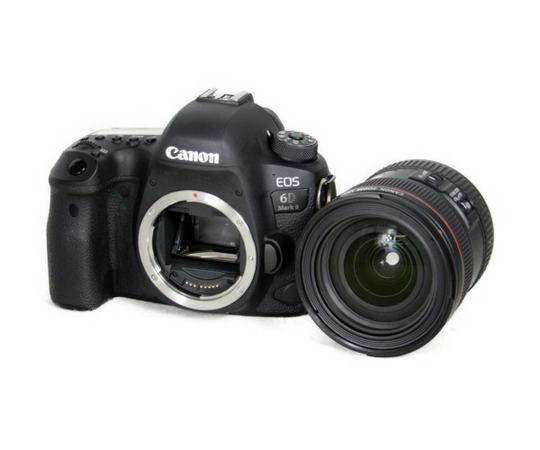 美品 【中古】 CANON 6DmarkII EF 24-70 IS USM 一眼レフ カメラ レンズ キット K3885681