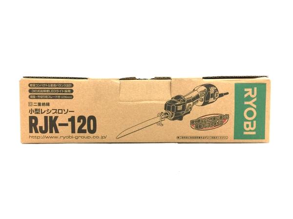 未使用 【中古】 未使用 RYOBI RJK-120 小型 レシプロソー 電動工具 リョービ O4671944