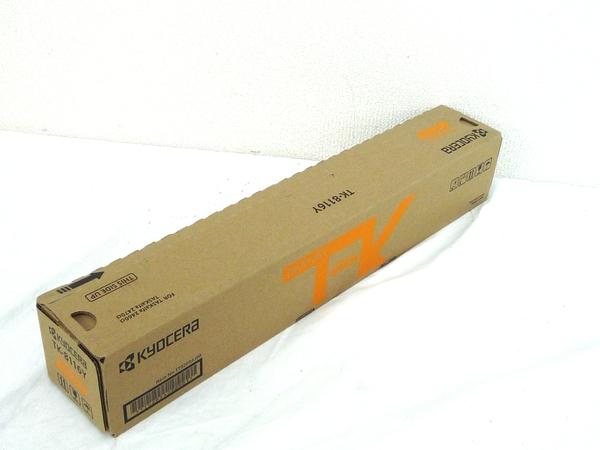 未使用 【中古】 未使用 京セラ TK-8116 純正 トナー イエロー M4564096