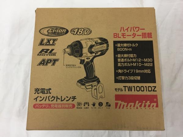 未使用 【中古】 makita マキタ TW1001DZ 充電式 インパクトレンチ 電動工具 未使用 T3896591