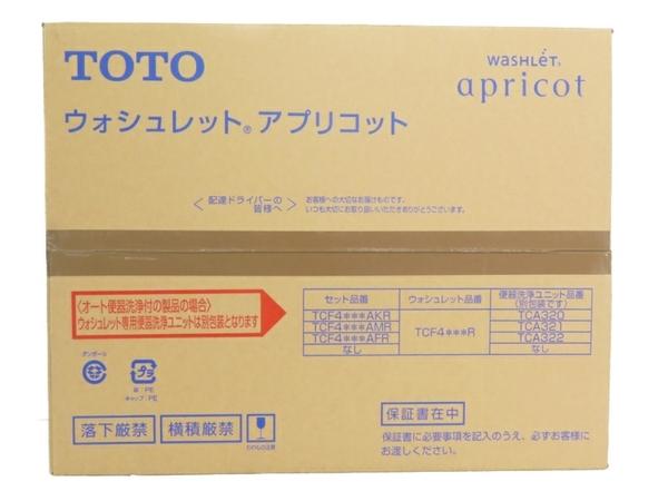 未使用 【中古】 TOTO TCF4723R #NW1 ホワイト ウォシュレット アプリコット S3918541