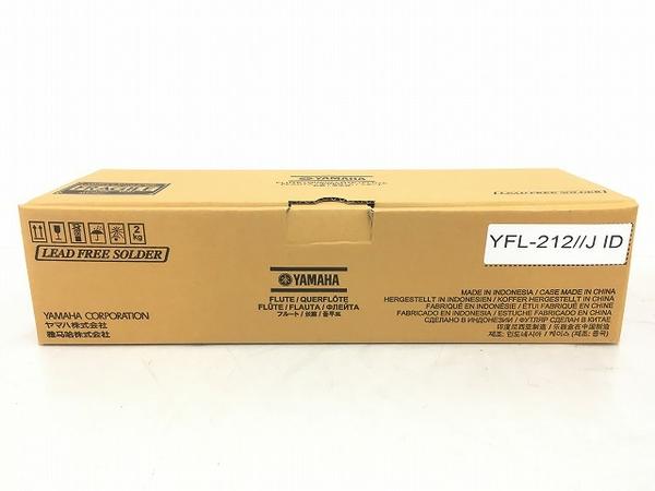 未使用 【中古】 YAMAHA YFL-212 カバードキイ Eメカ搭載 ヤマハ フルート T4841840