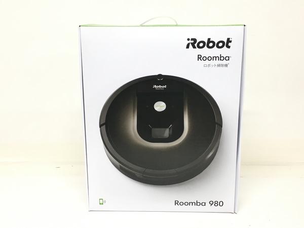 未使用 【中古】 iRobot Roomba ルンバ980 ロボット掃除機 クリーナー アイロボット 未使用 F5143904