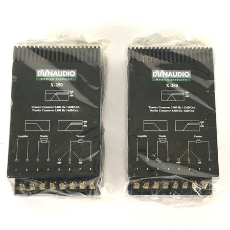 未使用 【中古】 DYNAUDIO ディナウディオ X-250 MOBILE FIDELITY クロスオーバーネットワーク 機器 Y3918537