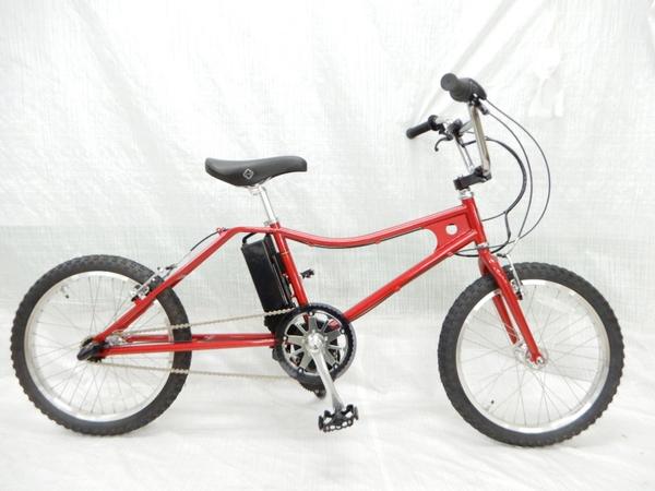 【中古】 The PARK e-bike PBLE BMX キャンディレッド Eアシストバイク 電動 自転車 【大型】 Y3160117