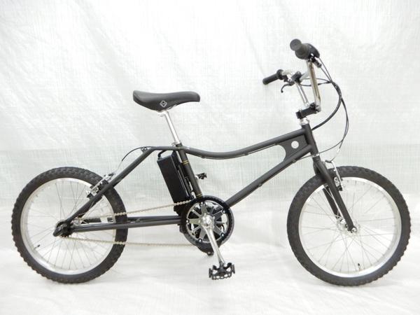 【中古】 The PARK e-bike PBLE BMX マットブラック Eアシストバイク 電動 自転車 楽直【大型】 Y3160280