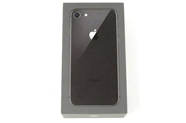 未使用 【中古】 Apple iPhone8 MQ782J/A 64GB スペースグレイ T3894595