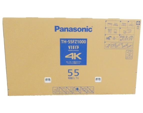 未使用 【中古】 未開封 Panasonic パナソニック TH-55FZ1000 有機EL テレビ 55型 映像 機器 【大型】 Y3752647