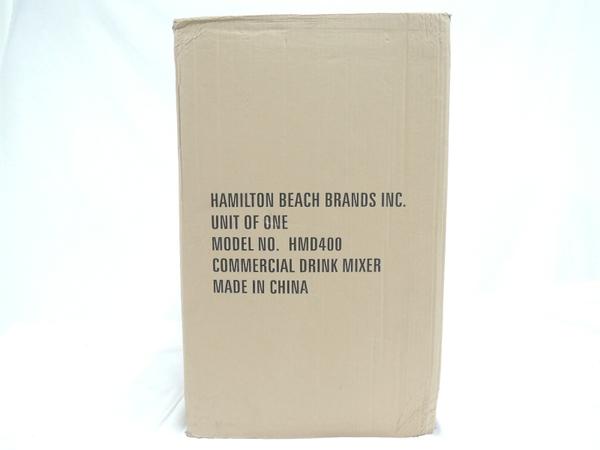未使用 【中古】 ハミルトンビーチ ドリンクミキサー HMD-400 三連式ドリンクミキサー T3624715