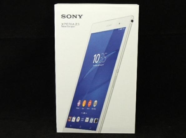 未使用 【中古】 未開封 SONY Xperia Z3 Tablet Compact SGP611JP/W タブレット Wi-Fiモデル F3306552