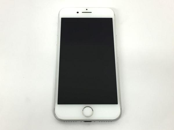 【中古】 Apple アップル iPhone 7 MNCL2J/A au 128GB 4.7型 シルバー スマートフォン T3819543
