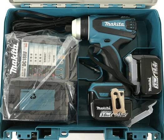 未使用 【中古】 makita マキタ TP131DRFX 充電式 4モード インパクトドライバー バッテリ2個付き N4861130