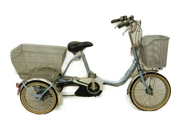 【中古】 BRIDGESTONE ブリヂストン 電動アシスト三輪自転車 Assista アシスタワゴン AW114 【大型】 S3437747