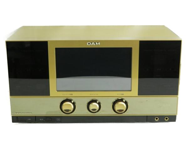 【中古】 第一興商 LIVE DAM DAM-XG5000G GOLD EDITION ゴールド エディション カラオケ機材 ダム 閉局済 S3525783