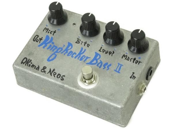 【中古】 Akima & Neos King Rocker Bass 2 ベースオーバードライブ エフェクター N3473444