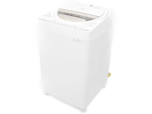 【中古】TOSHIBA 東芝 AW-6G2 洗濯機 縦型 6.0kg 家電【大型】 H3863724