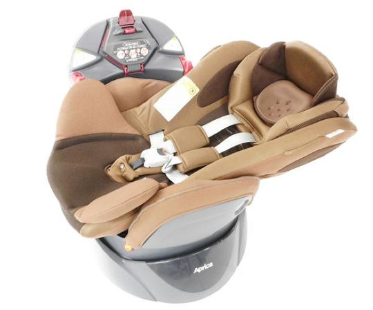 Aprica アップリカ フラディア 93056 回転式 ベット型 チャイルドシート 新生児~3歳 W3083972