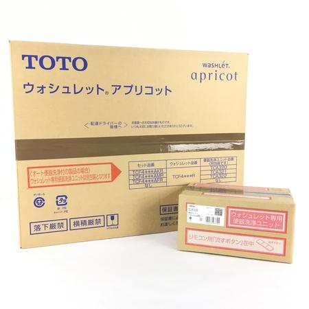未使用 【中古】 TOTO TCF4733AKR ( TCF4733R + TCA320 ) ウォシュレット #NW1 ホワイト 住宅 設備 未開封 未使用 Y3996703