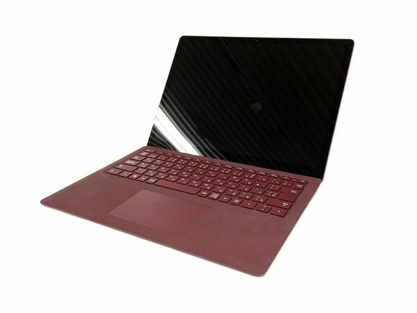 【中古】 マイクロソフト Surface Laptop DAG-00108 ノートパソコン i5-7200U 8GB 256GB Win10 T3513914