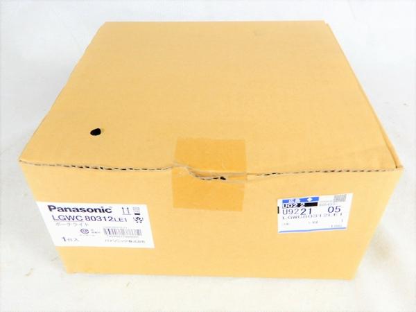 未使用 【中古】 Panasonic パナソニック LGWC80312 LE1 ポーチライト 壁直付型 LED 電球色 照明機器 K3537998