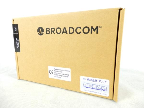 未使用 【中古】 未開封 Broadcom MegaRAID 9440-8i NVMe SSD対応 国内正規代理店品 PCパーツ K3317757