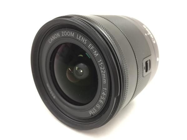 【中古】 EOS M 11-22mm 4-5.6 IS STM カメラ レンズ T3546635
