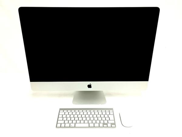 【中古】 Apple アップル iMac ME088J/A 一体型 PC 27型 2013 i5 4670 3.4GHz 8GB HDD1TB Mojave 10.14 NVIDIA GeForce GTX 775M 楽 【大型】 T3521759